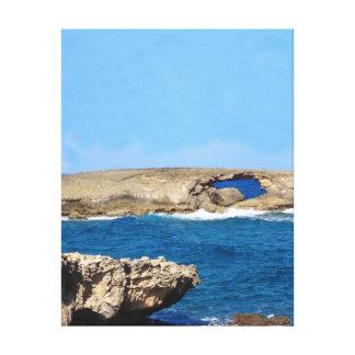 Ocean's Eye Canvas Print