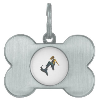 Oceans Fantasy Pet Name Tag