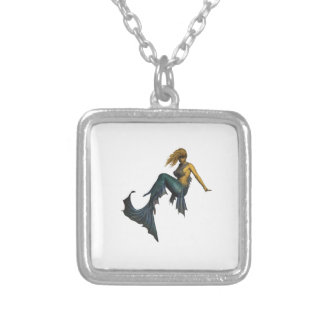 Oceans Fantasy Silver Plated Necklace