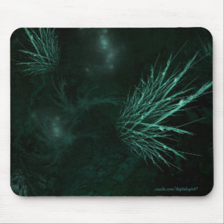 Ocean's floor - Deep Green Mouse Pad
