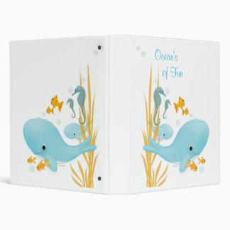 Ocean's of Fun Photo Book Binder
