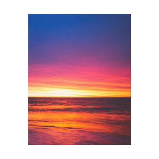 Oceans of the West Canvas Print
