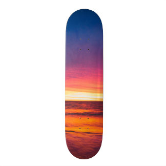 Oceans of the West Custom Skate Board