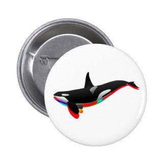 Oceans Pass 2 Inch Round Button