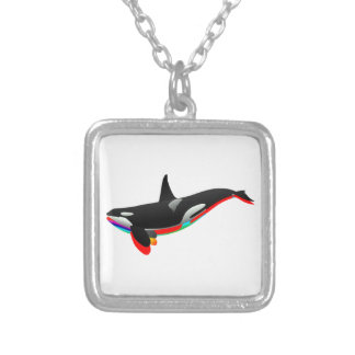 Oceans Pass Silver Plated Necklace
