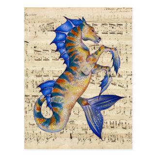 Oceans Song Postcard