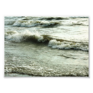 Oceans Surf Photographic Print