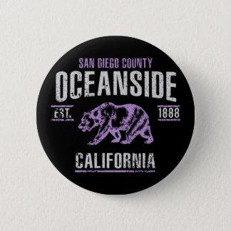 Oceanside 2 Inch Round Button