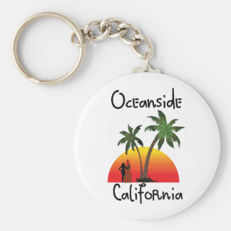 Oceanside California Keychain
