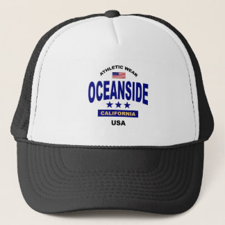 Oceanside California Trucker Hat