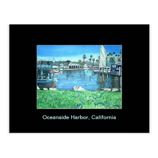 Oceanside Harbor, California Postcard