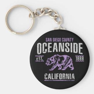 Oceanside Keychain