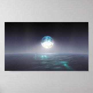 Oceanus And The Diamond Moon Poster