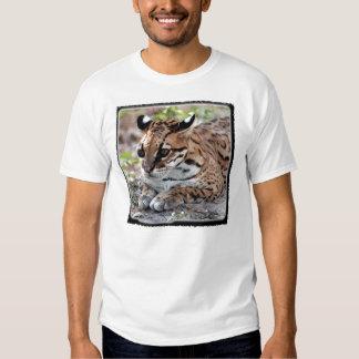 Ocelot 02 11x11 tee shirt