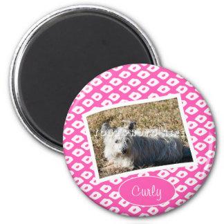 Ocelot Photo Frames - Pink Magnet