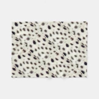 Ocelot Spots Fleece Blanket