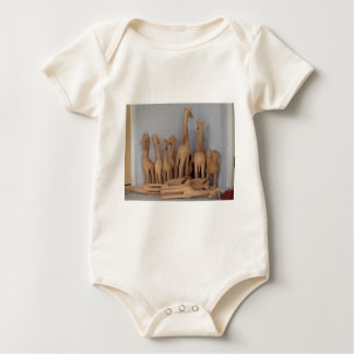 Ocho carvings baby bodysuit