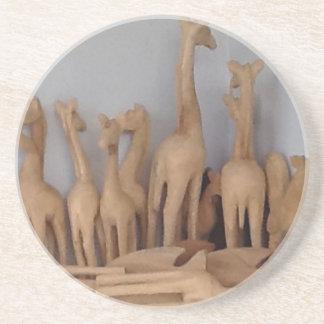 Ocho carvings coaster