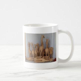 Ocho carvings coffee mug