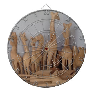 Ocho carvings dartboard