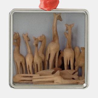 Ocho carvings metal ornament