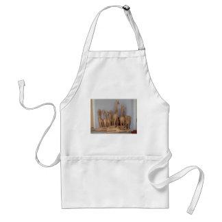 Ocho carvings standard apron