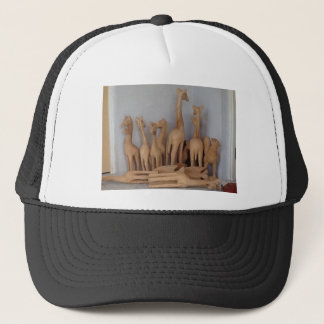 Ocho carvings trucker hat
