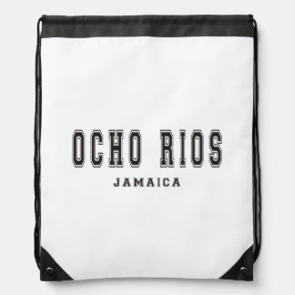 Ocho Rios Jamaica Drawstring Bags