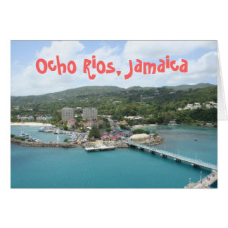 Ocho Rios, Jamaica Greeting Card