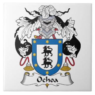 Ochoa Family Crest Tile