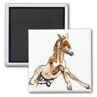 Ochre Foal Magnet