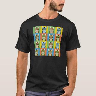 Ocicat Cat Cartoon Pop-Art T-Shirt