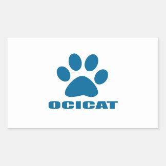 OCICAT CAT DESIGNS STICKER