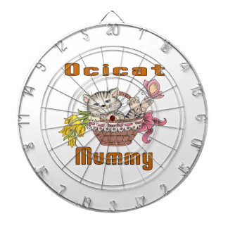 Ocicat Cat Mom Dartboard