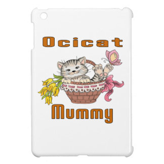 Ocicat Cat Mom iPad Mini Cover