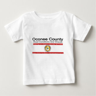 Oconee County Road Conditions and Wrecks Novelties Baby T-Shirt