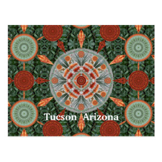 Ocotillo Mandala Array Postcard