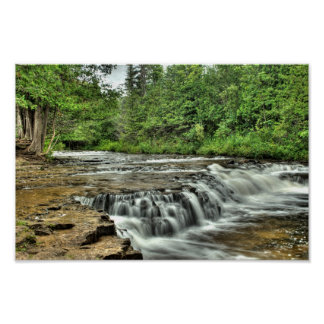 Ocqueoc Falls, Michigan Poster