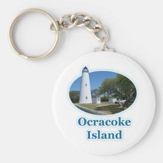 Ocracoke Island, North Carolina Keychain