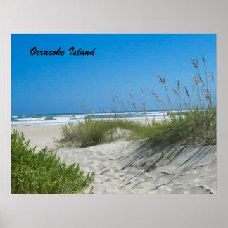 Ocracoke Island Poster