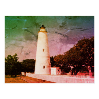Ocracoke Lighthouse Perfect Poster