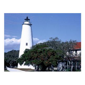 Ocracoke, Lighthouse Postcard