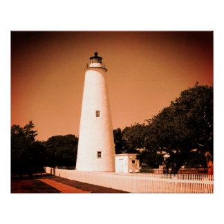 Ocracoke Lighthouse Poster
