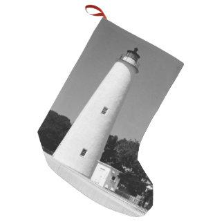 Ocracoke Lighthouse Small Christmas Stocking