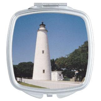 Ocracoke Lighthouse Vanity Mirror