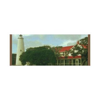 Ocracoke North Carolina Canvas Print