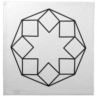 Octagon Square Napkin