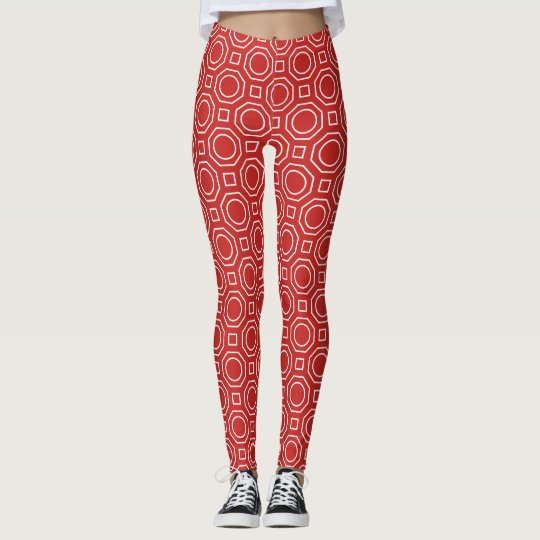 Octagon & Square Shapes Leggings