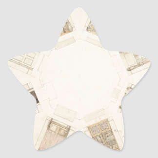 Octagonal Room Star Sticker