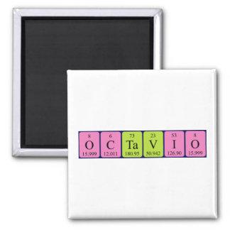 Octavio periodic table name magnet